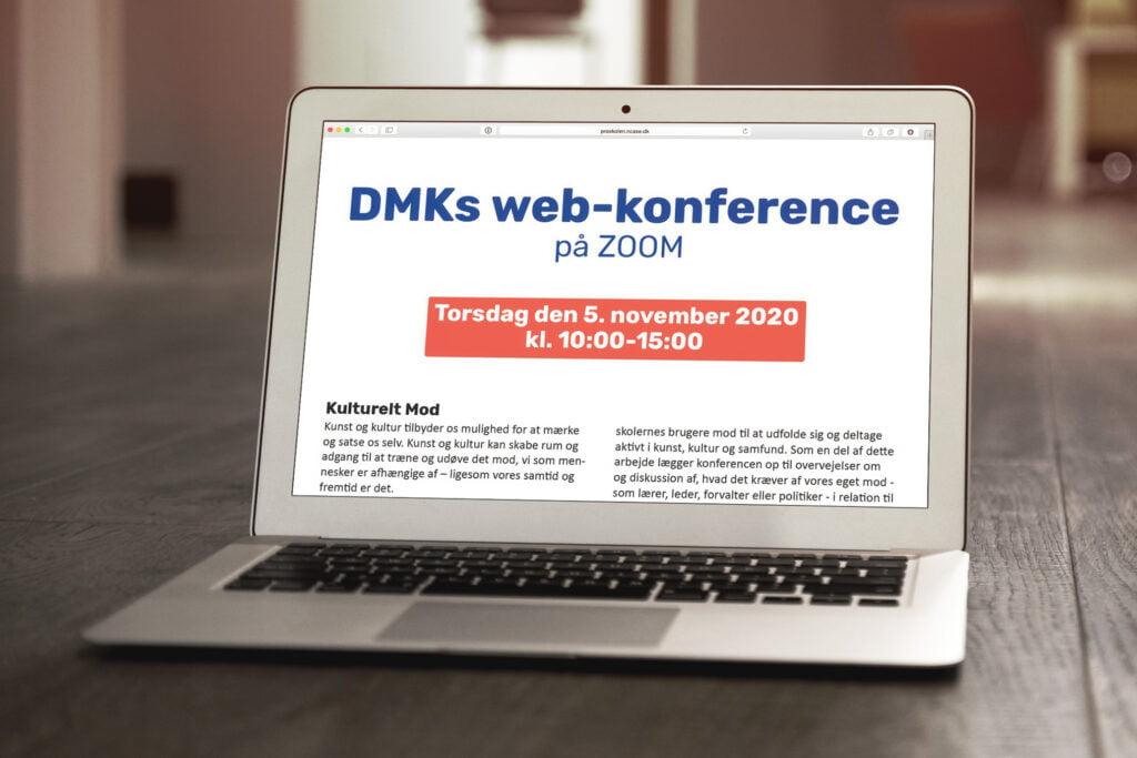 Tilmelding til DMK web-konference 5. november 2020