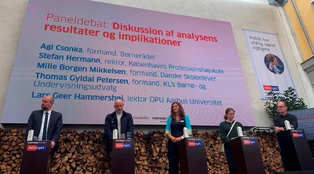 Paneldebat - Danske Musik- og Kulturskoler