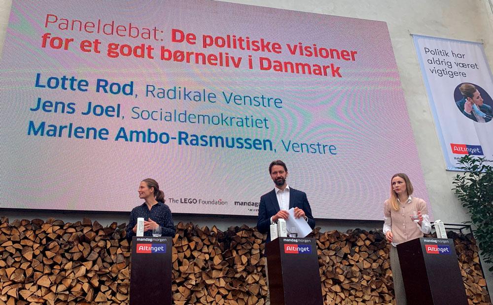 Politikere - Danske Musik- og Kulturskoler